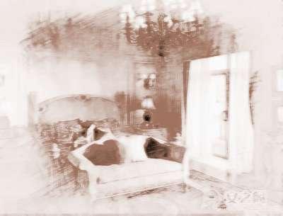 卧室带出风口吊顶