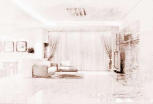 大门和客厅隔离屏风图片大全