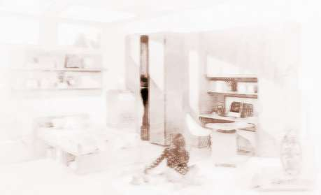 粉色女生卧室设计图片大全